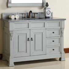 Brookfield 48 Single Urban Gray Bathroom Vanity Set by James Martin Furniture