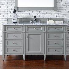 Brittany 60 Single Urban Gray Bathroom Vanity Set by James Martin Furniture