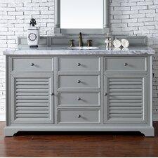 Savannah 60 Single Urban Gray Bathroom Vanity Set by James Martin Furniture