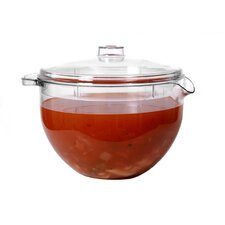 Easy Cook Glass Microwave Jug and Lid