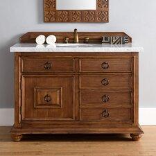 Mykonos 48 Single Cinnamon Bathroom Vanity Set by James Martin Furniture