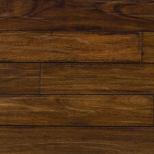 """5-1/2"""" Solid Brazilian Chestnut Hardwood Flooring in Brown"""