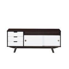 """Modern Wood Veneer 48"""" TV Stand"""