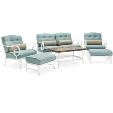Oceana 6 Piece Deep Seating Group with Cushion by Hanover