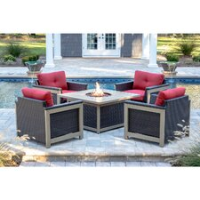 Montana 5 Piece Deep Seating Group by Hanover