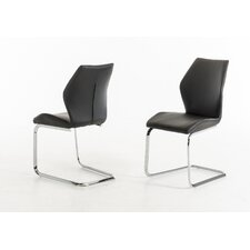 Presley Leatherette Dining Chair (Set of 2)