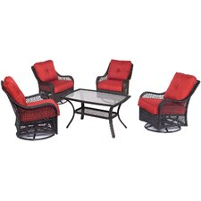 Orleans 5 Piece Deep Seating Group by Hanover