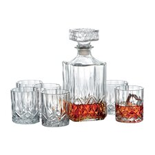 Westerville 7 Piece Decanter Set
