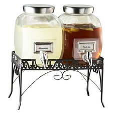 Haywood 3 Piece Beverage Dispenser Set