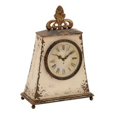 "12"" Traditional Iron Table Clock"