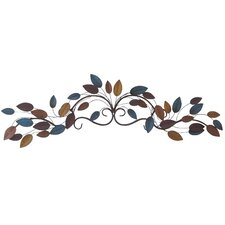 Horizontal Metal Wall Decor