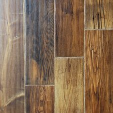 "Zachery 7"" x 48"" x 12.3mm Laminate Plank in Pine"