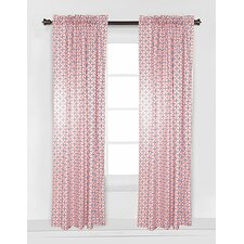 Olivia Tribal Dot Cross Single Curtain Panel