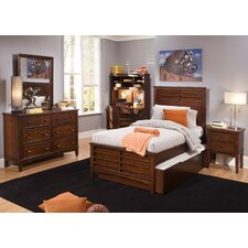 Roberta Youth Bedroom Panel Headboard in Burnished Tobacco by Viv + Rae