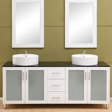 Fraher 72 Double Bathroom Vanity Set by Brayden Studio