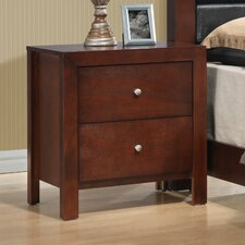 Brennen 2 Drawer Nightstand by Latitude Run