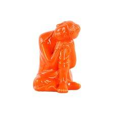 Ceramic Sitting Buddha Figurine