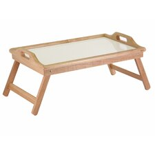Annapolis Breakfast Tray with Handles and Foldable Legs by Andover Mills