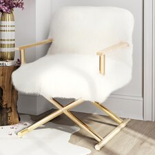 Angelika Sheepskin Armchair by Willa Arlo Interiors