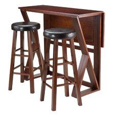 Brayan 3 Piece Pub Table Set