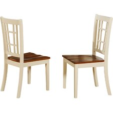 Bolivia Solid Wood Dining Chair (Set of 2)