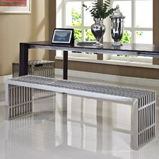 Gunnar Stainless Steel Bench (Set of 2) by Wade Logan