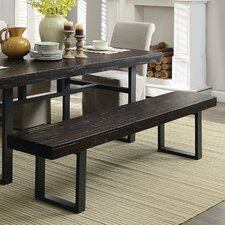 Viola Reclaimed Wood Dining Bench by Laurel Foundry Modern Farmhouse