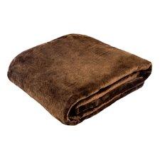 Morgana Solid Plush Blanket