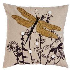 Spencer Nature's Bounty Dragonfly Indoor/Outdoor Throw Pillow