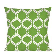 Eagle River Woven Pattern Indoor/Outdoor Throw Pillow