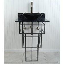 Mission Fong 22 Pedestal Bathroom Sink by D'Vontz