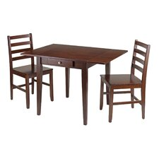 Coleshill 3 Piece Dining Table Set