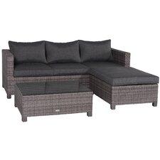 Rudesheim Sectional Sofa Set with Cushions