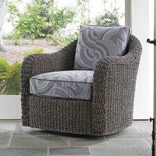 Oyster Bay Seabury Swivel Barrel Chair by Lexington