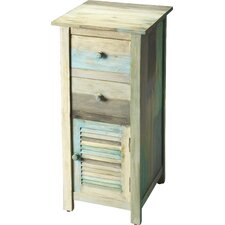 Braden Painted Rustic 2 Drawer Chest by Mistana