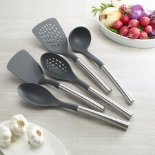 5-Piece Essential Nylon Kitchen Utensil Set