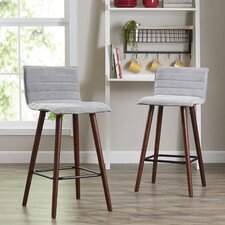 "Aurora 24"" Bar Stool (Set of 2)"