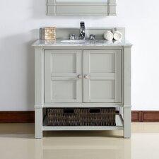 Madison 36 Single Dove Gray Bathroom Vanity Set by James Martin Furniture