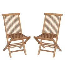 Teak Side Chair (Set of 2) by Bamboo54