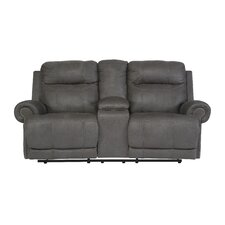 Culver Double Reclining Console Loveseat by Red Barrel Studio