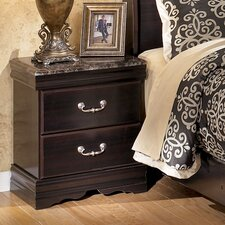 Woodfield 2 Drawer Nightstand by Alcott Hill