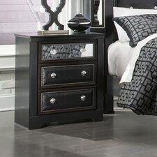 Venetia 3 Drawer Nightstand by House of Hampton