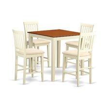 Stockport 5 Piece Counter Height Pub Table Set