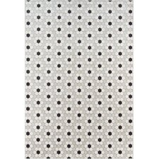 Hex Tile Gray Indoor/Outdoor Area Rug