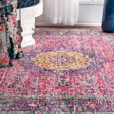 Varun Pink/Purple Area Rug
