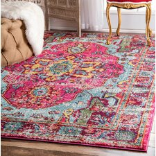 Loughlam Pink Area Rug