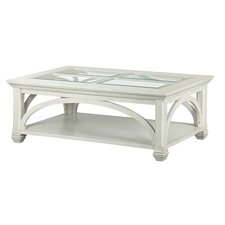 Arcadian Rectangular Coffee Table by Beachcrest Home