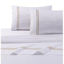 Bolivar 400 Thread Count Dot Embroidered Cotton Deep Pocket Sheet Set