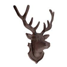 Deer Head Woodman Ridge Wall Décor
