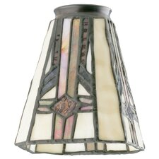 "4.75"" Glass Empire Wall Sconce Shade (Set of 2)"